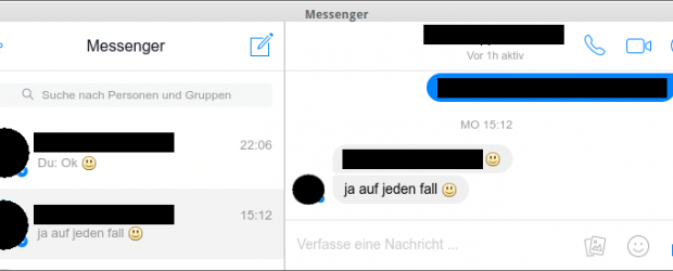 Facebook Messenger for Desktop - Chat